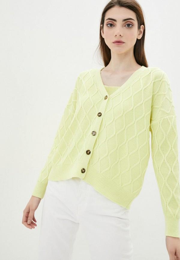 женский твинсет sewel, желтый