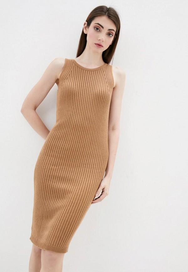 женское платье sewel, коричневое