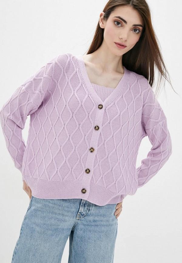 женский твинсет sewel, фиолетовый