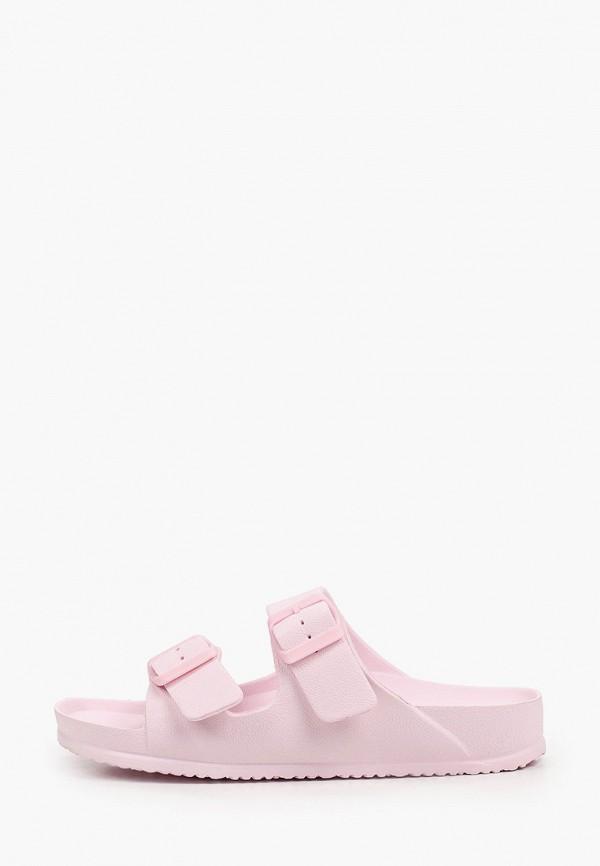 женские сланцы enjoin', розовые