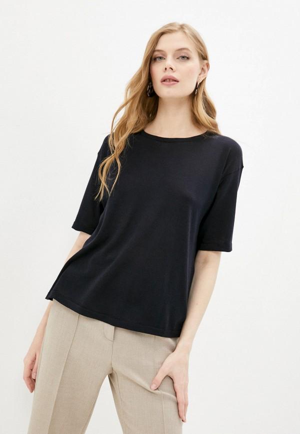 женская футболка falconeri, синяя