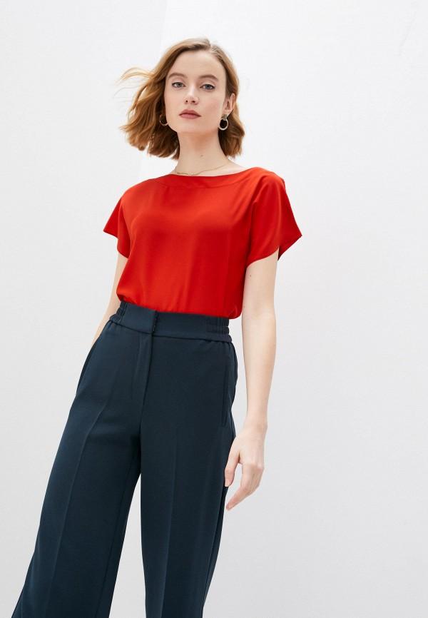 женская футболка falconeri, красная