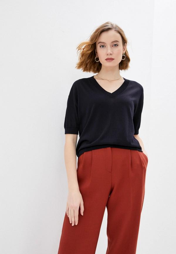 женский пуловер falconeri, синий