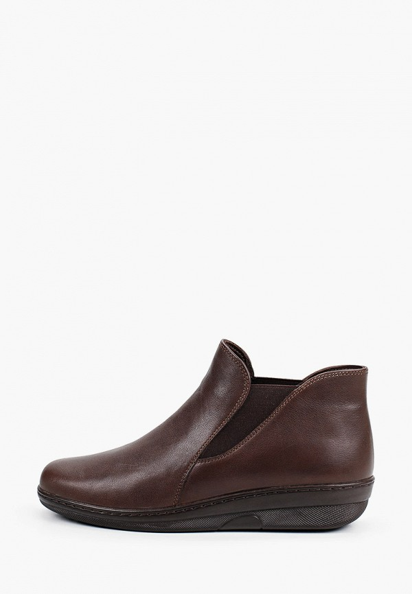 женские ботинки-челси romer, коричневые