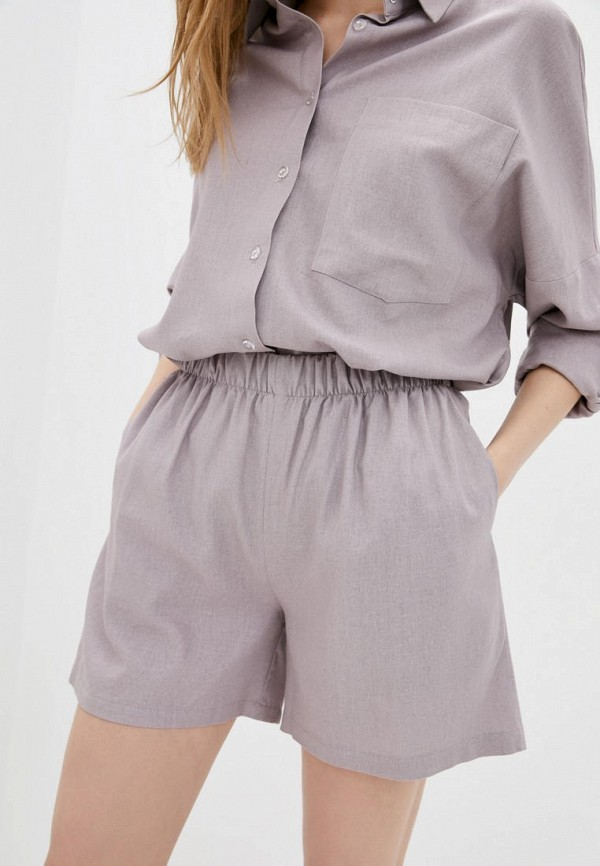 женские повседневные шорты 7arrows, фиолетовые