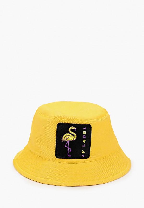 женская панама lf-label, желтая