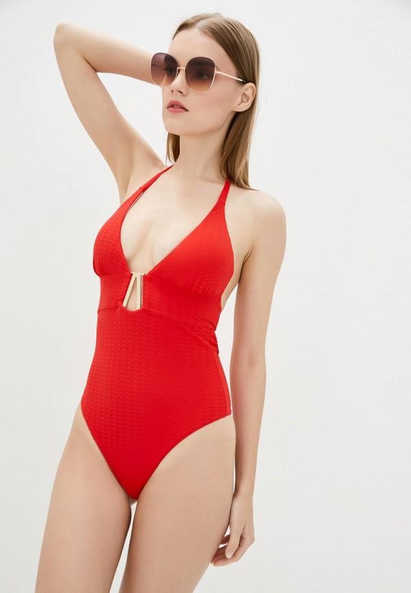 женский купальник love's swimwear, красный