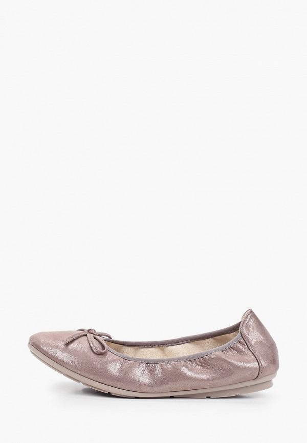 женские балетки bridget, коричневые