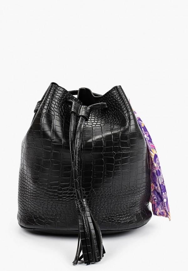 женская сумка-ведро defacto, черная