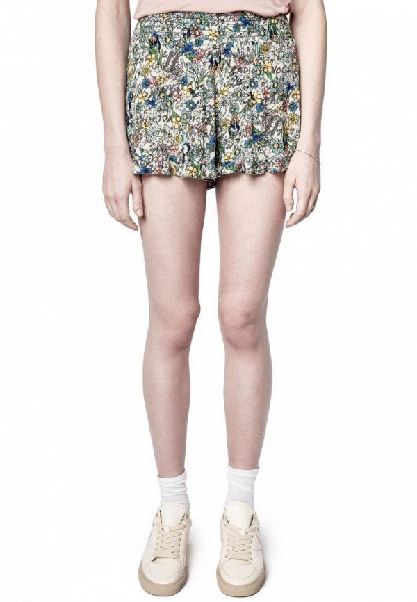 женские повседневные шорты zadig & voltaire, разноцветные