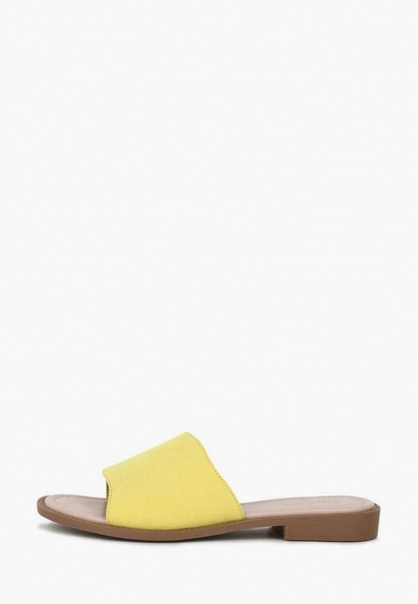 женское сабо t.taccardi, желтое