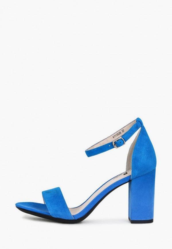 женские босоножки pierre cardin, синие