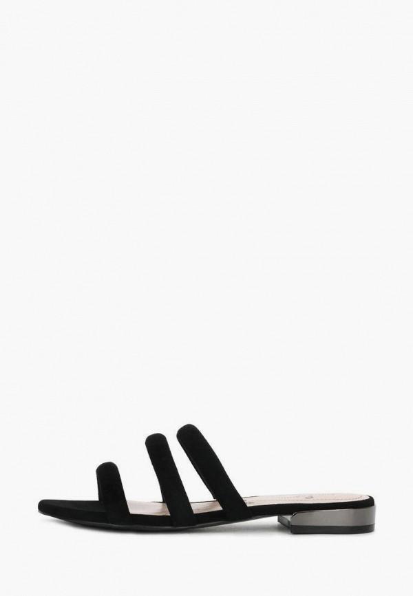 женское сабо pierre cardin, черное
