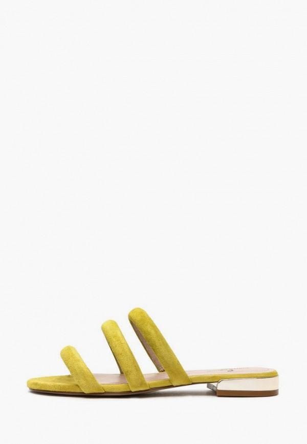 Сабо Pierre Cardin желтого цвета