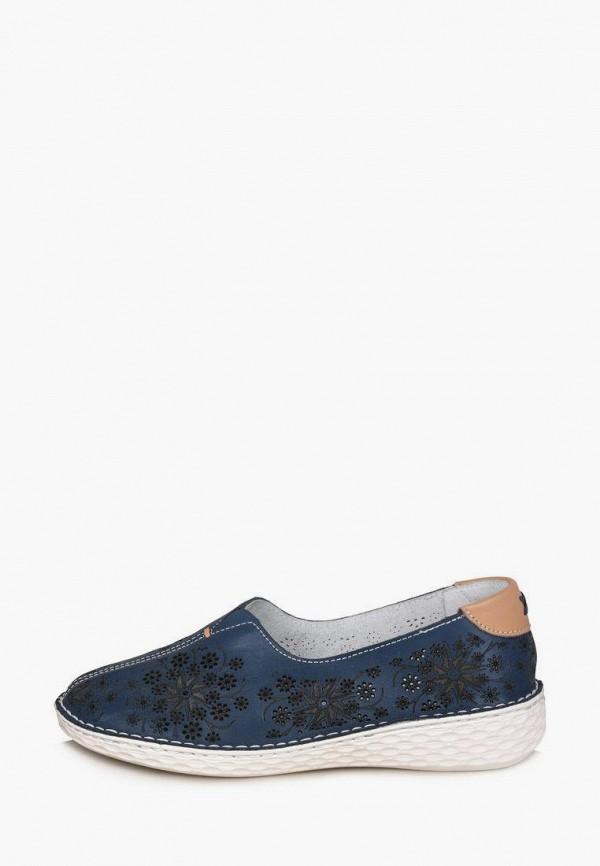 женские туфли с закрытым носом alessio nesca, синие