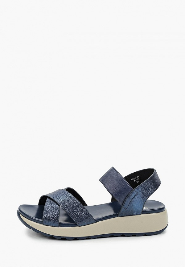 женские сандалии glamforever, синие