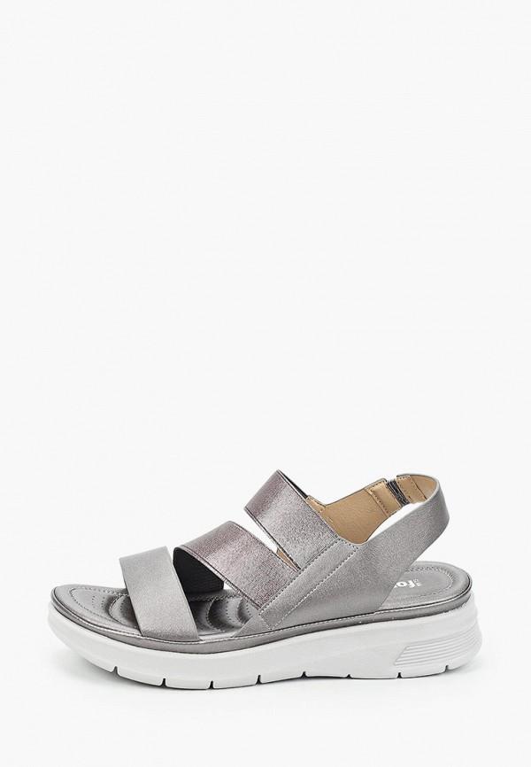 женские сандалии glamforever, серые