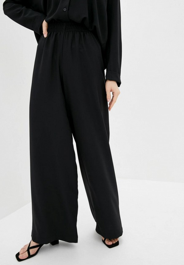 женские повседневные брюки garne, черные