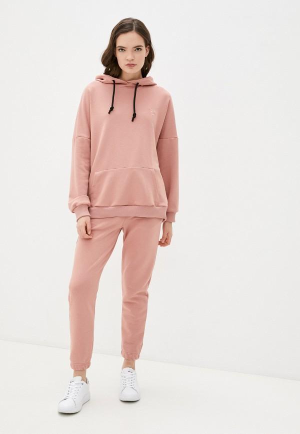 женский спортивный костюм vitacci, розовый