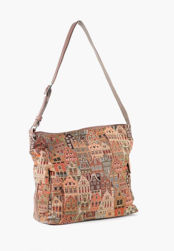 женская сумка через плечо vita, разноцветная