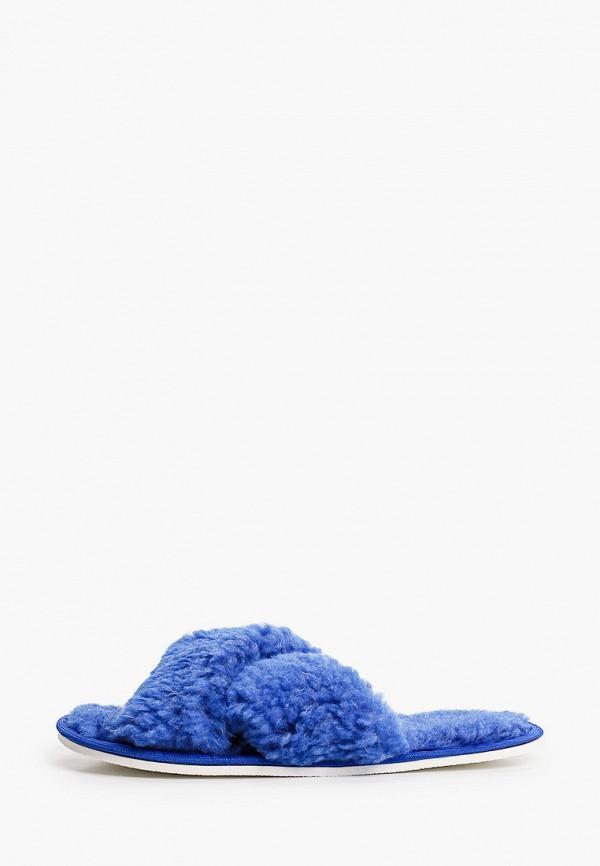 женские тапочки dream time, синие