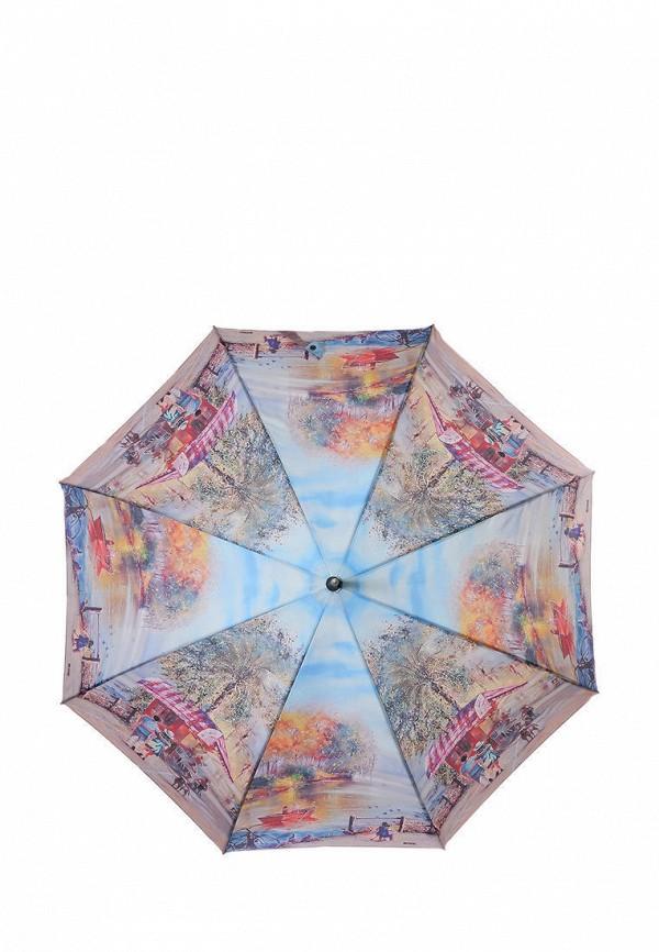 женский зонт-трости lamberti, разноцветный