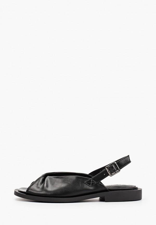женские сандалии zenden, черные