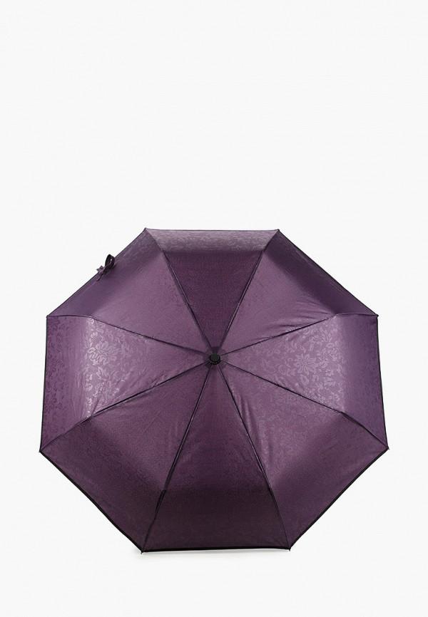женский складные зонт instreet, фиолетовый