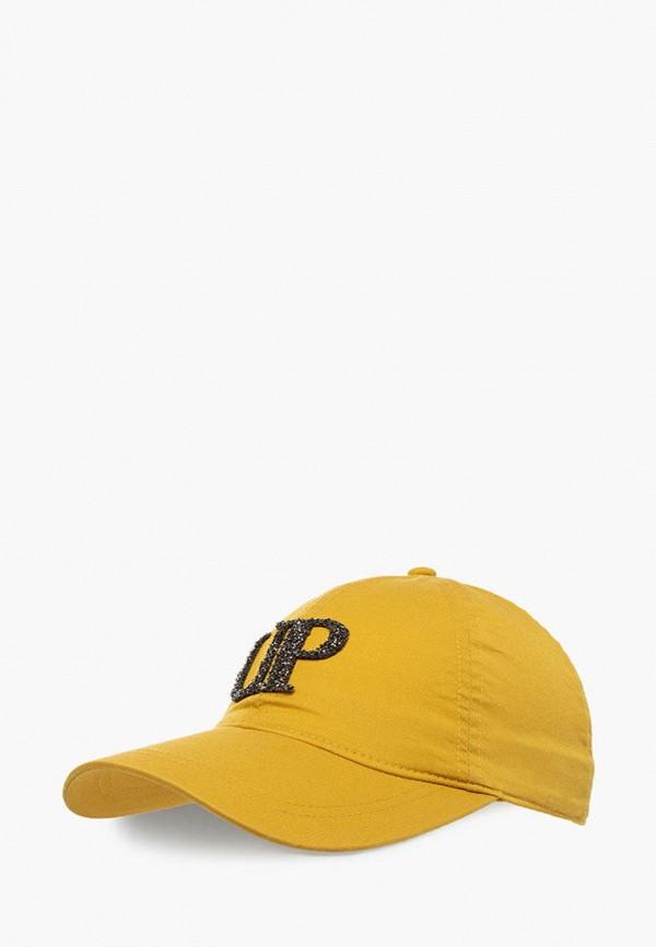 женская бейсболка urbanpeak, желтая