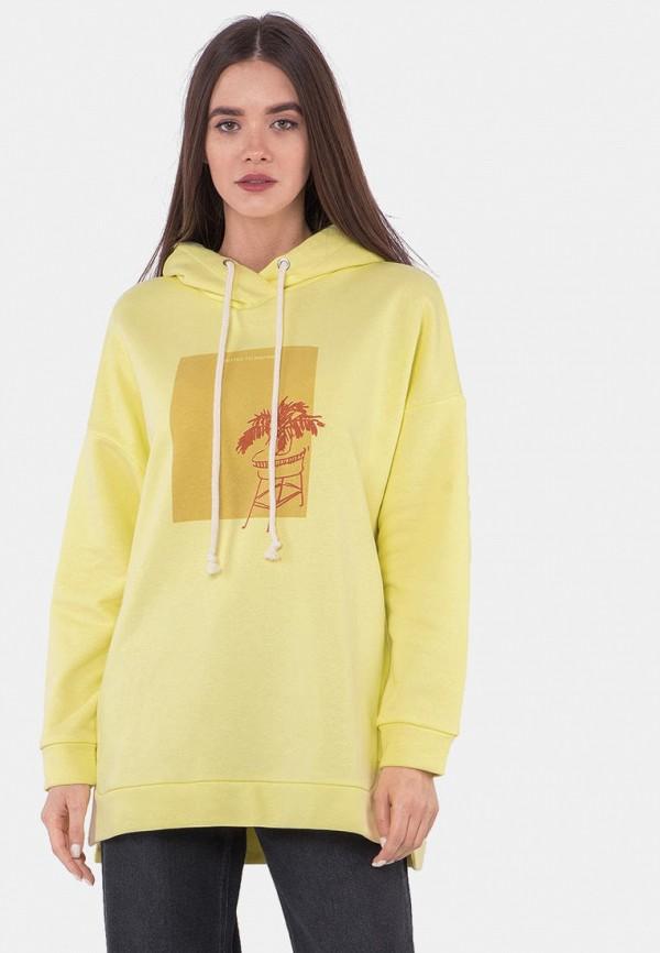 женские худи mr520, желтые