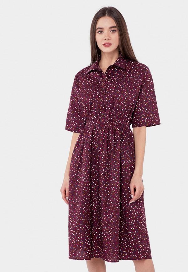 женское платье mr520, бордовое