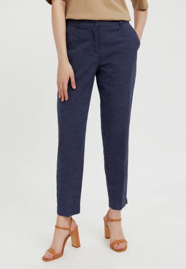женские зауженные брюки finn flare, синие