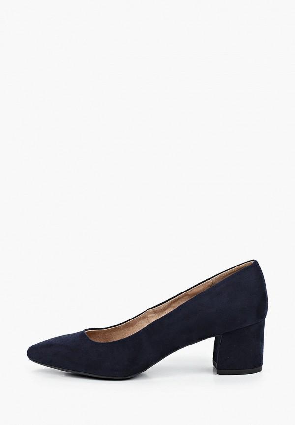 женские туфли с закрытым носом graceland by deichmann, синие