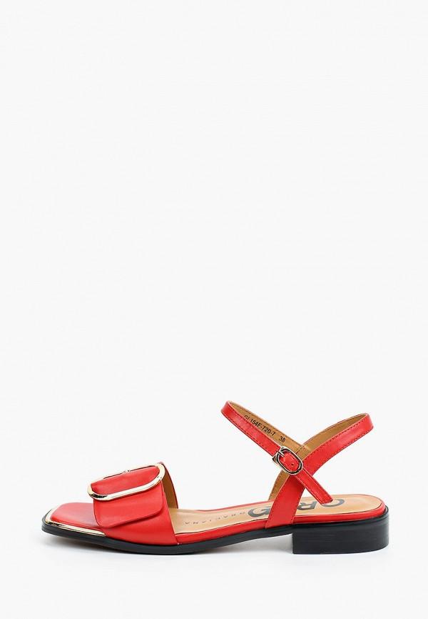 женские сандалии graciana, красные