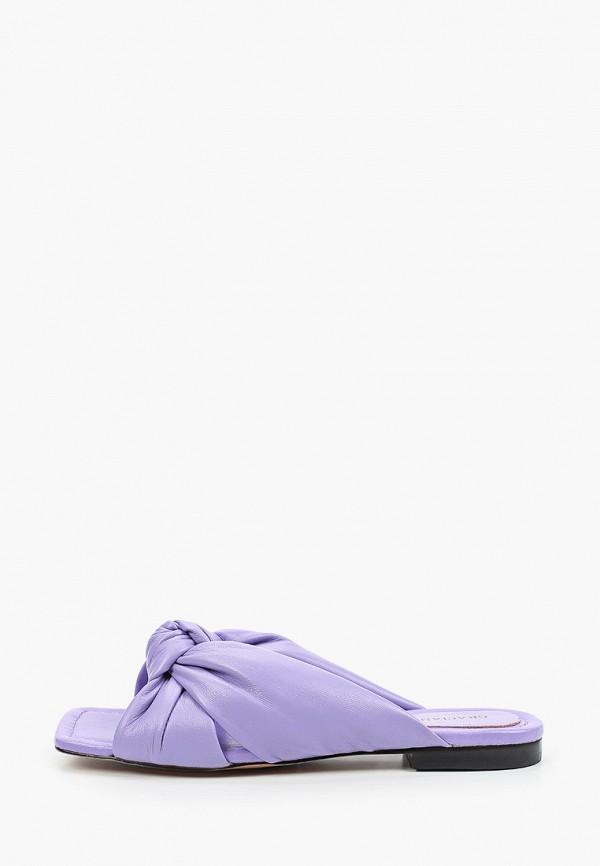 женское сабо graciana, фиолетовое