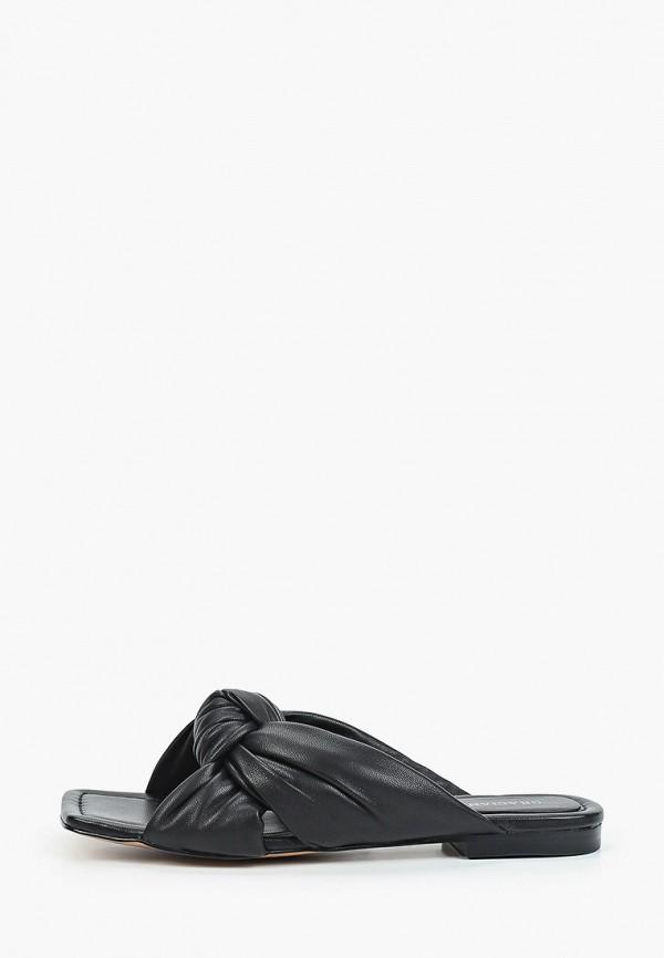 женское сабо graciana, черное