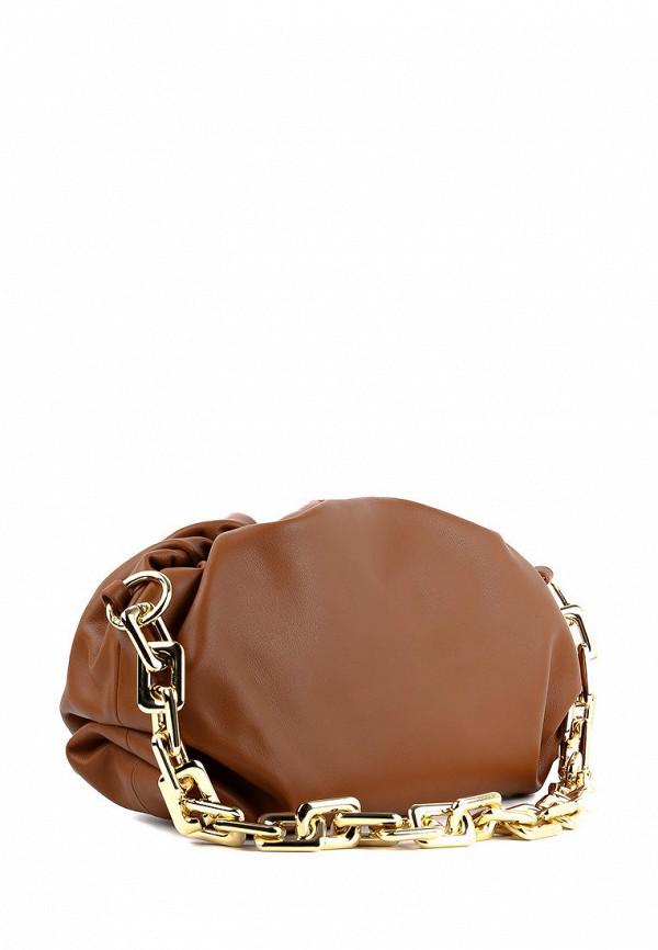 женская сумка leberdes, коричневая