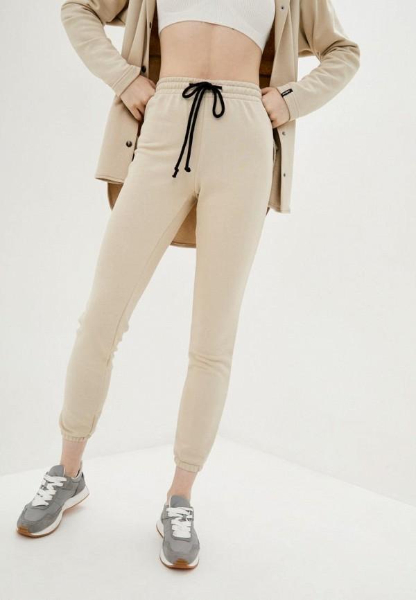 женские спортивные брюки garne, бежевые