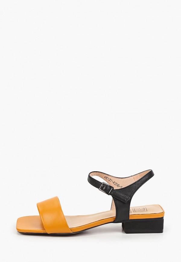 женские сандалии graciana, оранжевые