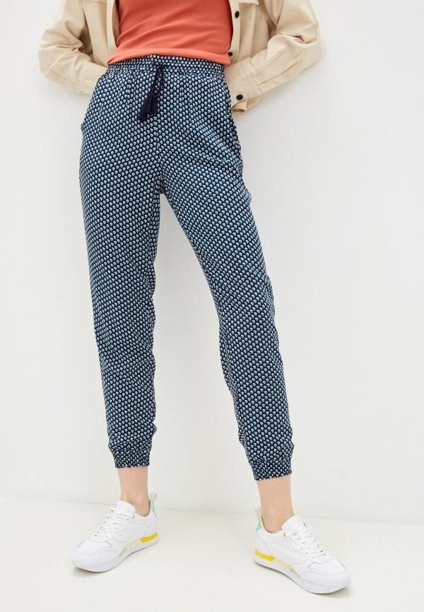 женские брюки джоггеры baon, бирюзовые