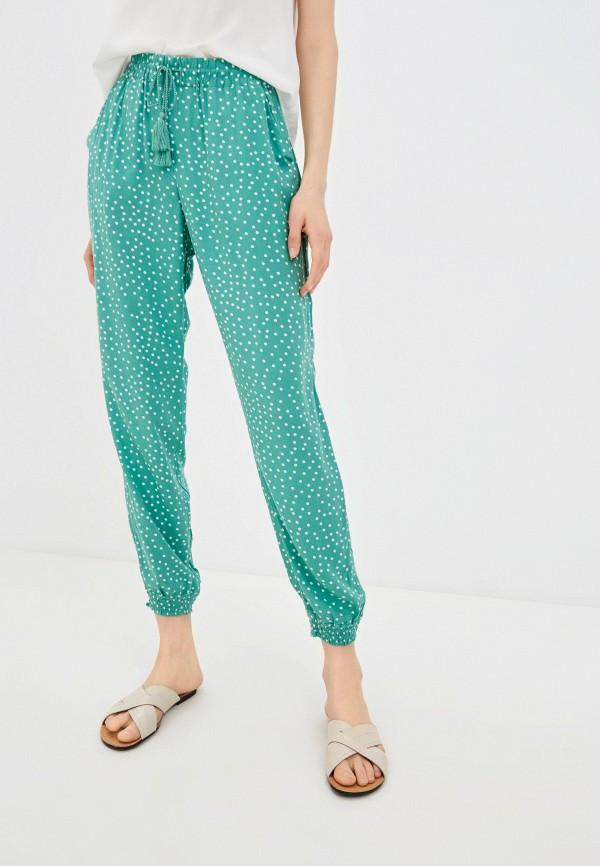женские брюки джоггеры baon, зеленые