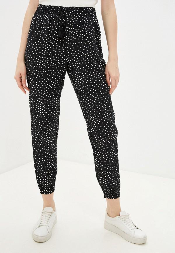 женские брюки джоггеры baon, черные