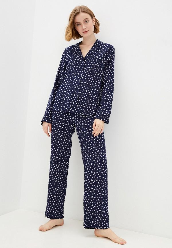 женская пижама baon, синяя