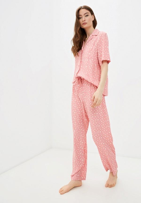женская пижама baon, розовая