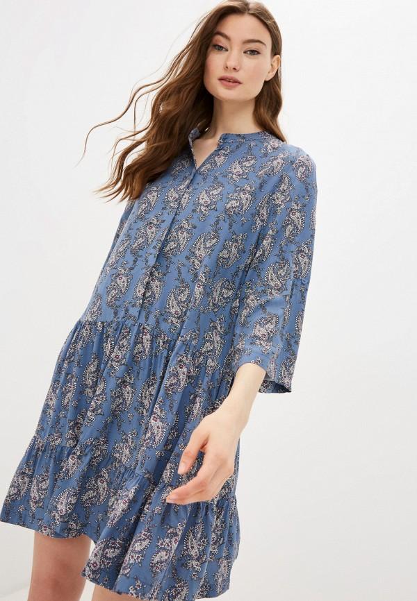 женское повседневные платье baon, синее