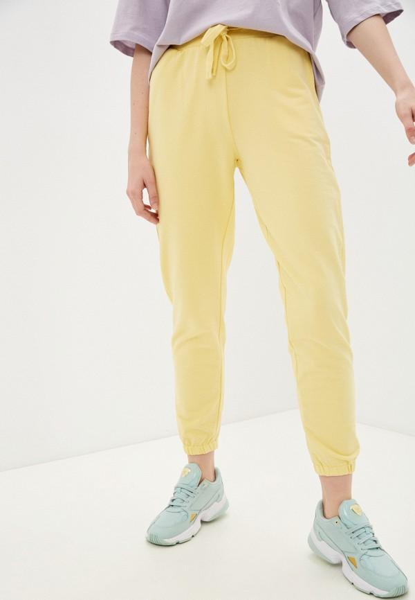 женские спортивные брюки baon, желтые