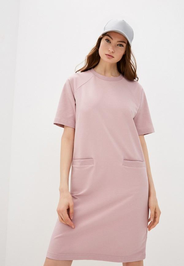 женское платье-футболки baon, розовое