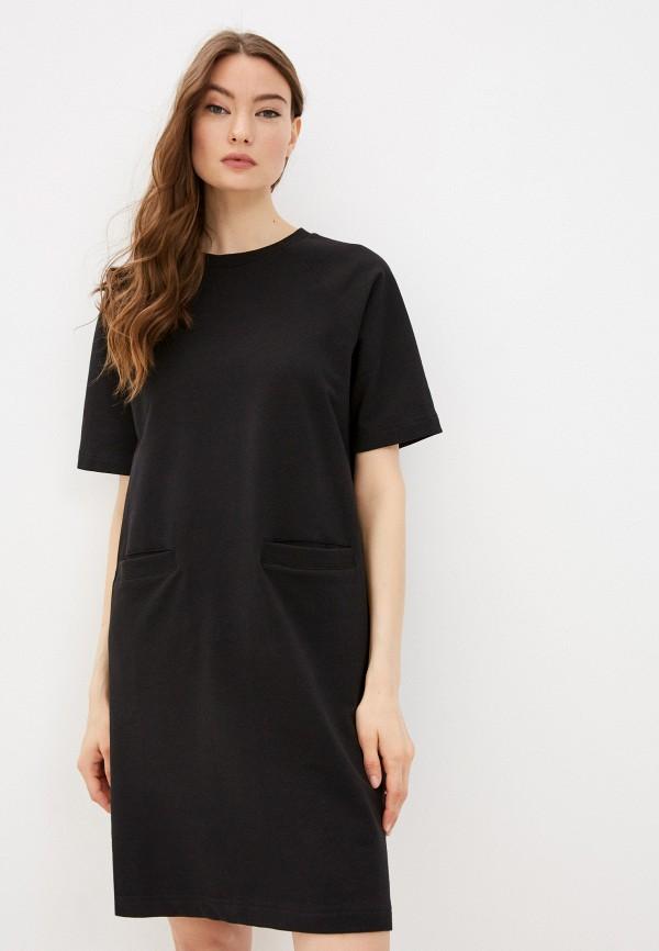 женское платье-футболки baon, черное