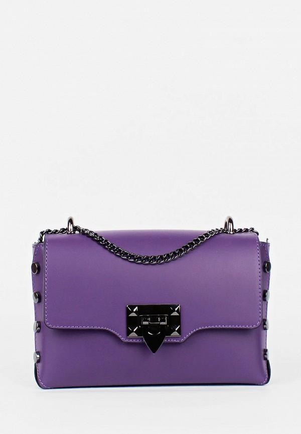 женская сумка bella bertucci, фиолетовая