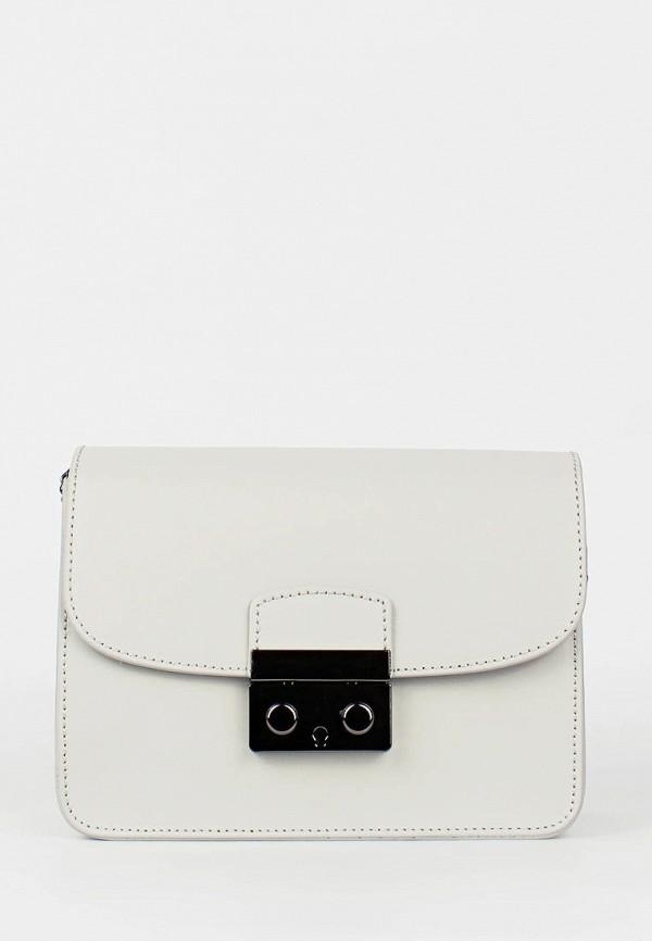 женская сумка bella bertucci, белая